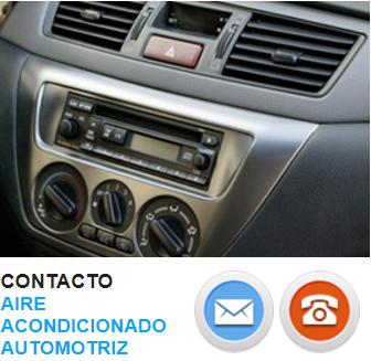 Contacto Aire Acondicionado Automotriz